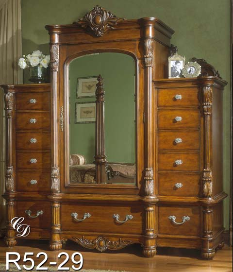 Bedroom furniture for King size bedroom sets with armoire