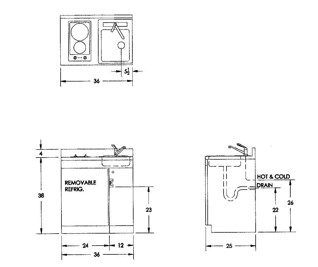 Gas kitchen units custom kitchen model luxury custom for Bathroom sink stub out height