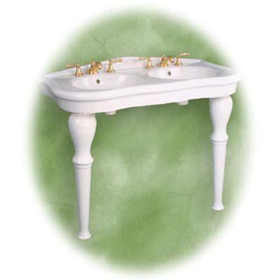 Single Sink Pedestals Bath Sink Consoles Wrought Iron Stands