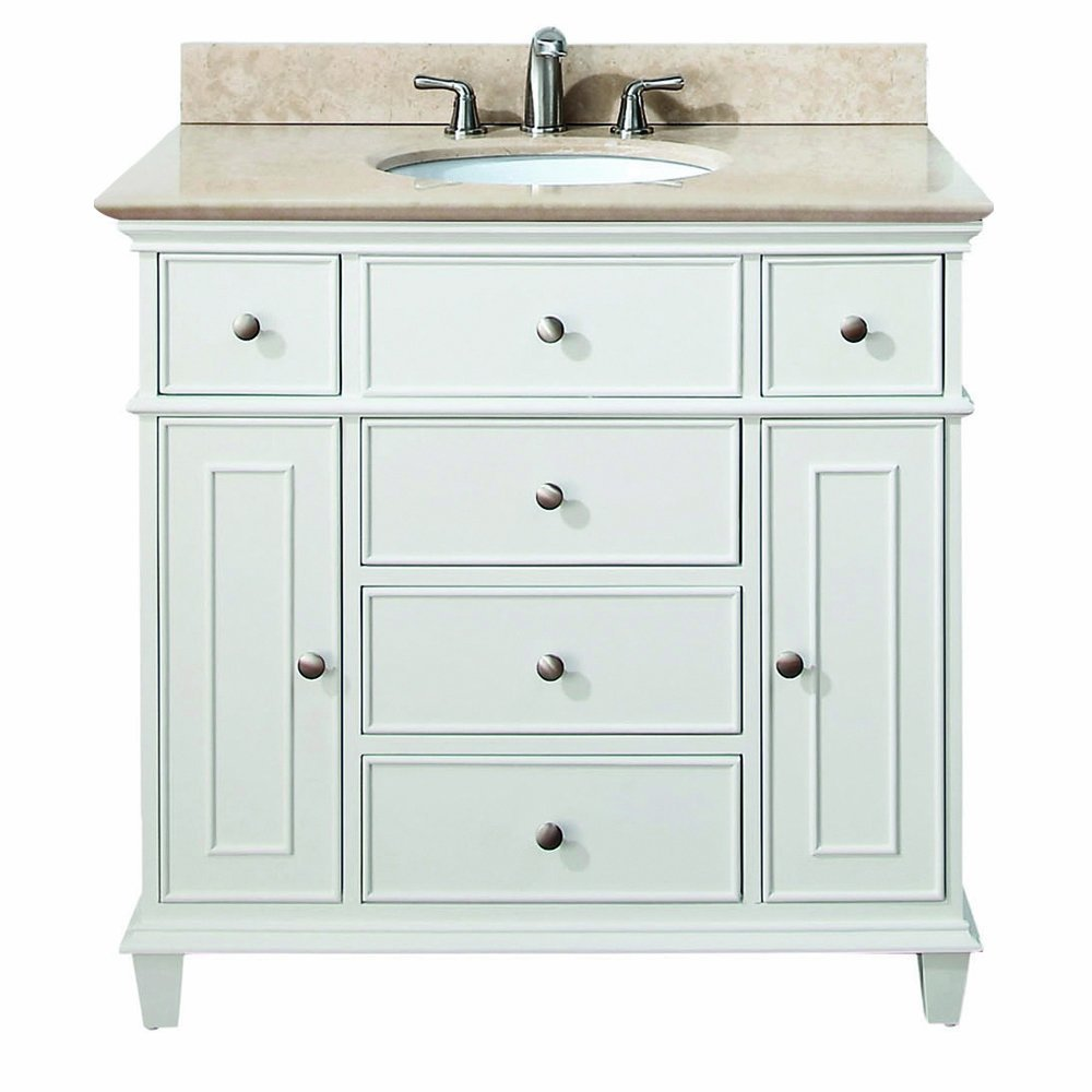 30 Inch to 48 Inch Vanities | Single Bathroom Vanities ...