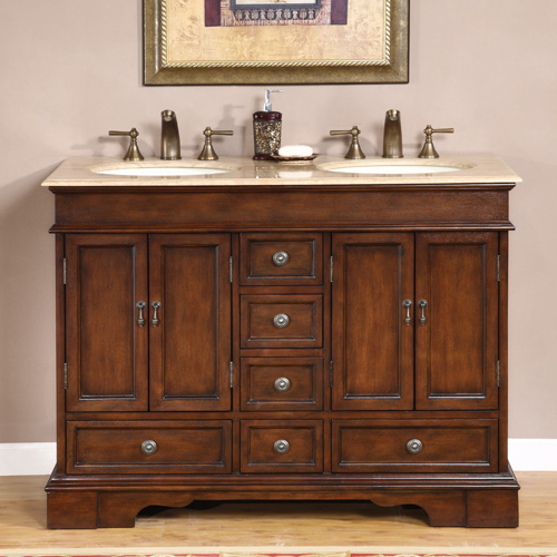 48 inch merla vanity 48 inch double vanity compact for Bathroom 48 inch vanity