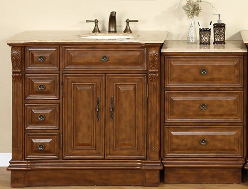 95 Inch Wide Marcus Double Sink Vanity Very Large Vanity
