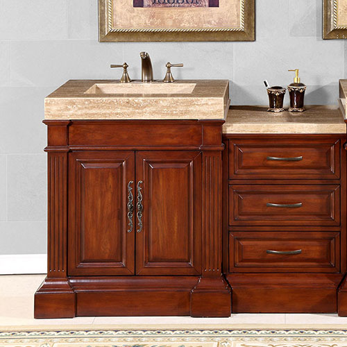83 inch crown vanity large bathroom vanity large - Bathroom vanities 32 inches wide ...