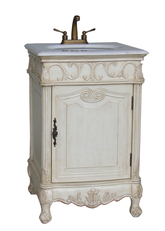 12 Inch to 29 Inch Wide Vanities | Ornate Sink Vanity ...