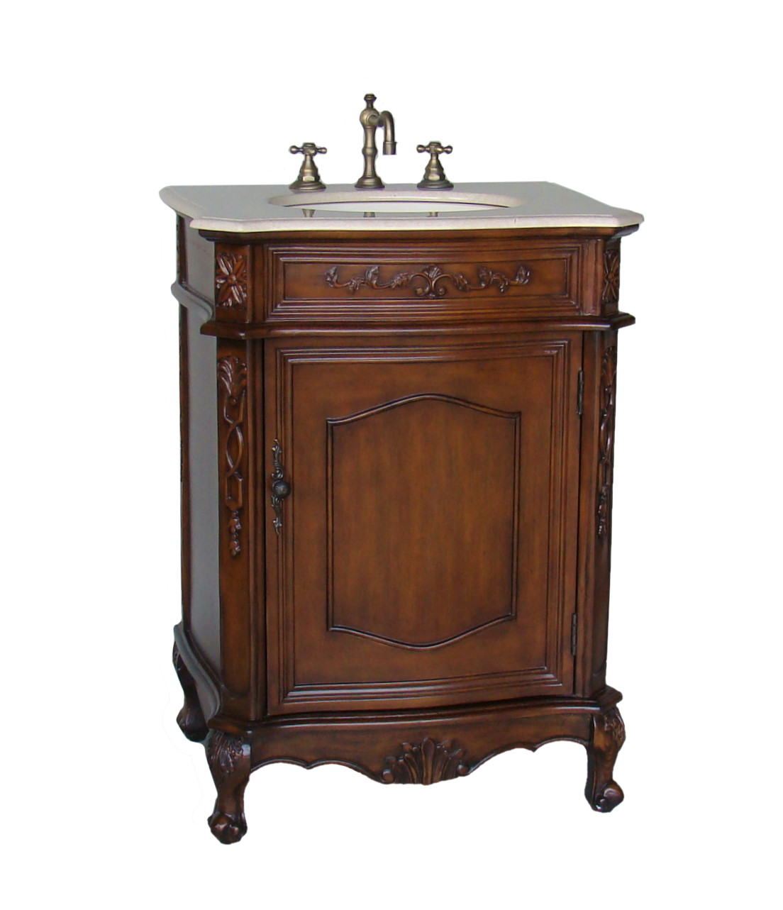 26 Wide Bathroom Vanity Cabinet