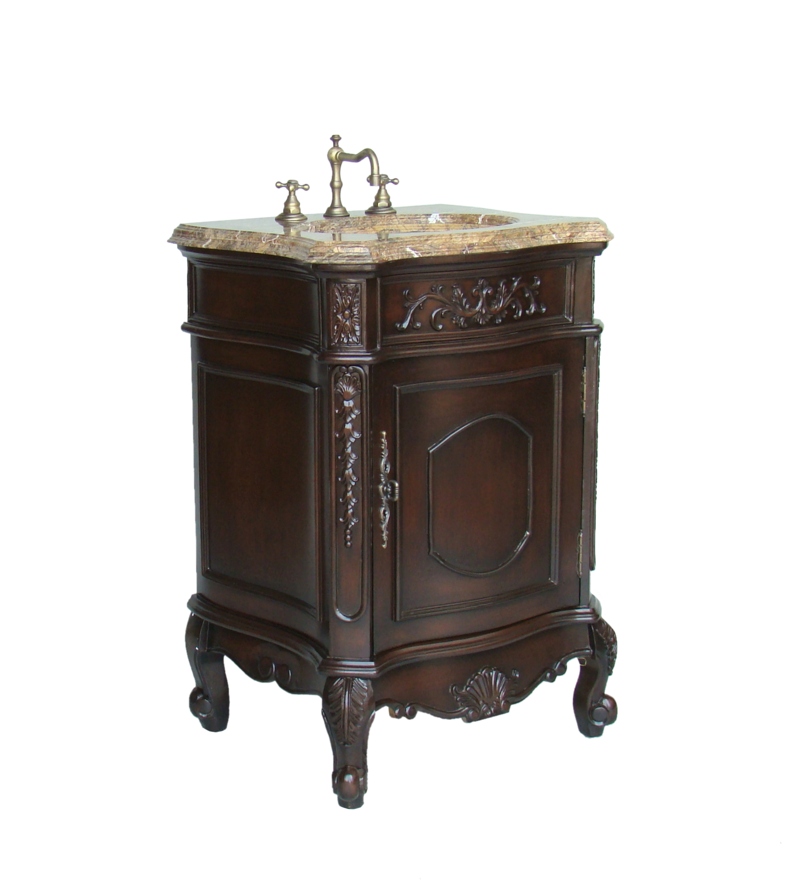 12 Inch To 29 Inch Wide Vanities Ornate Sink Vanity