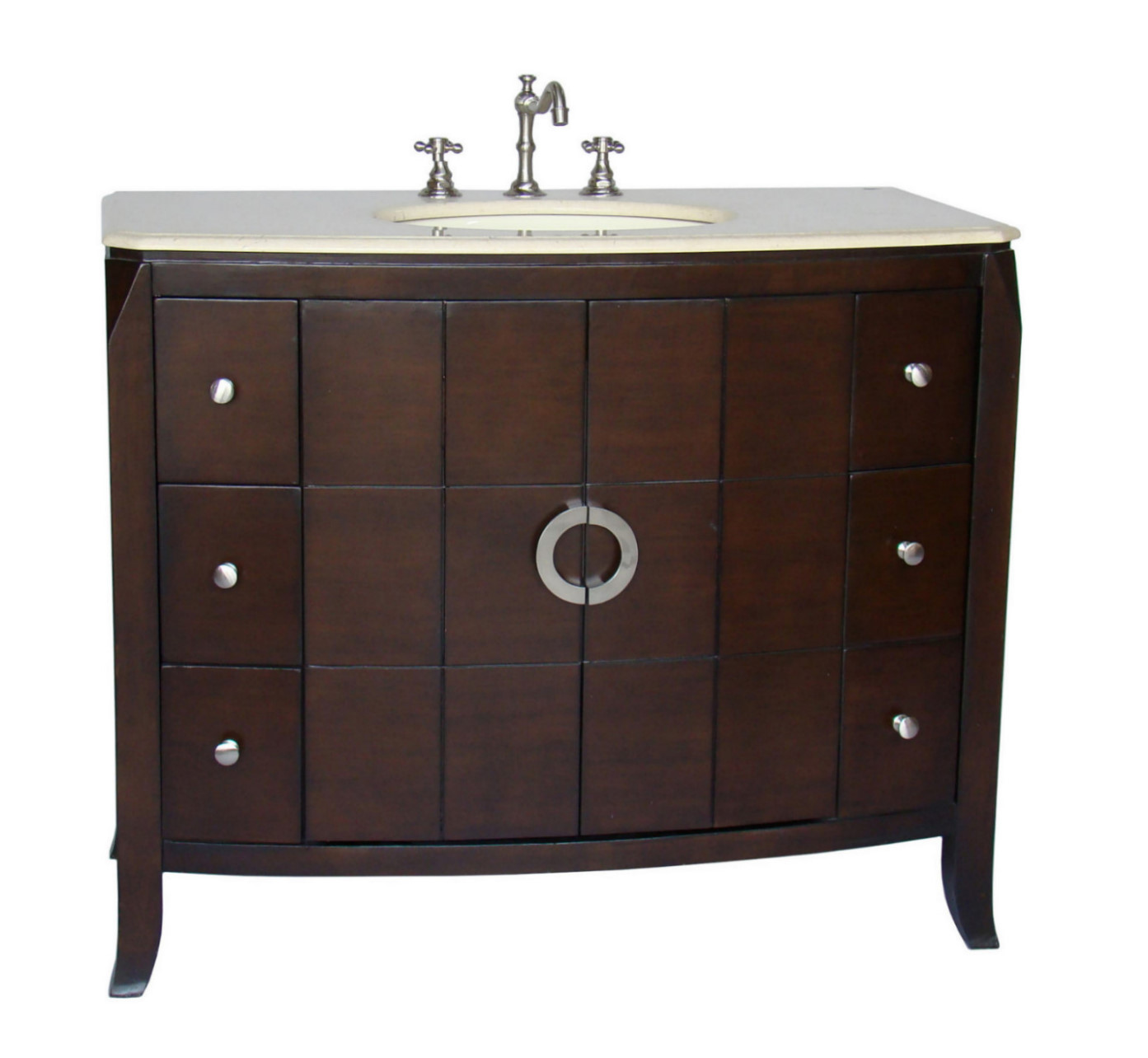 30 inch to 48 inch vanities single bathroom vanities for Bathroom 48 inch vanity