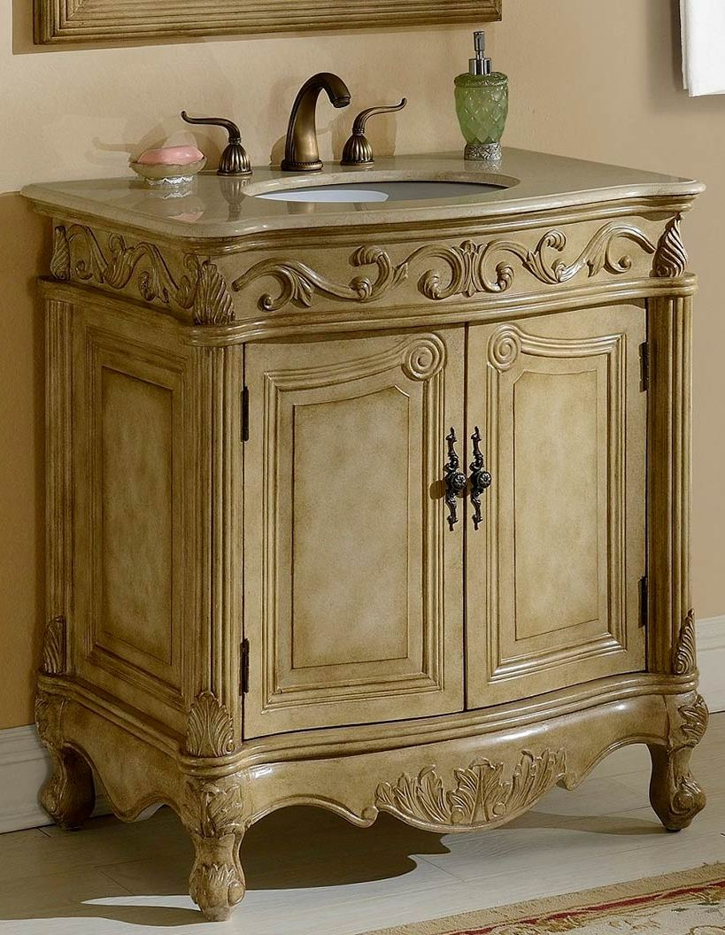 32Inch Mia Vanity Country French Style Vanity