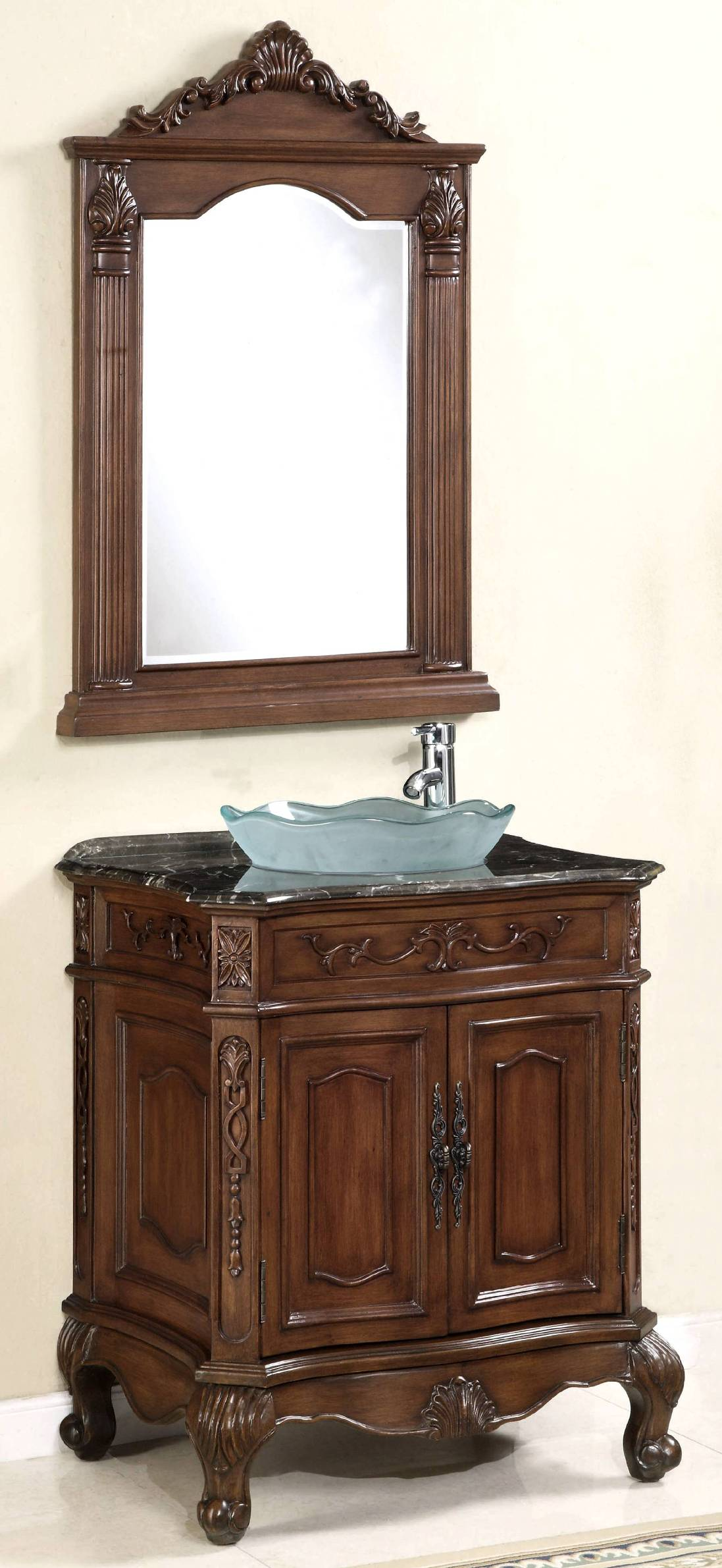 29 inch vanity set vanity with mirror vessel sink vanity