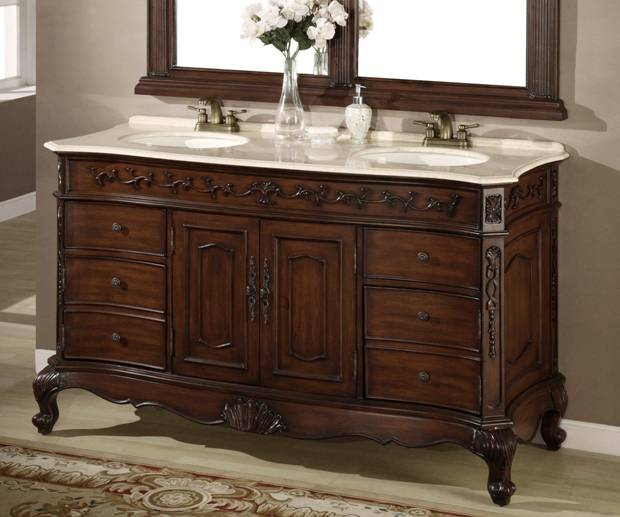 Lowes Cabinet Sale: 62-Inch Denver Vanity
