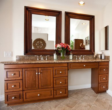78in Makeup Sink Vanity Custom Makeup Vanity Solid Wood