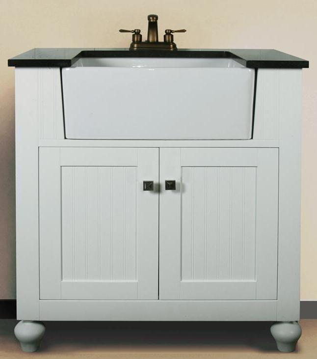Narrow depth vanity 14 19 in vanity limited space vanity - 19 inch deep bathroom vanity top ...