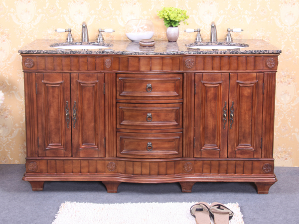 60 - 69 Inch Vanities | Double Bathroom Vanities | Double ...