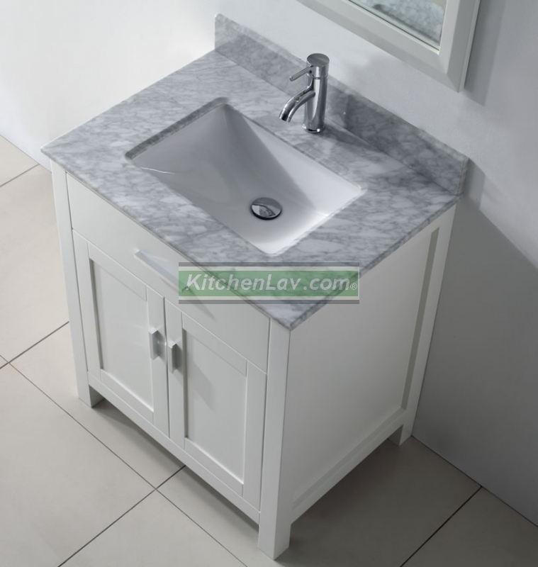 30 white bathroom vanity with top home and furnitures reference - 30 Bathroom Vanity With Top. Foremost Gazette 30 In Vanity In