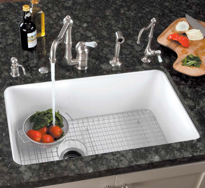 white undermount single bowl kitchen sink rohl kitchen sinks 2117